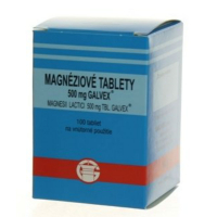 GALVEX Magnéziové tablety 500 mg 100 ks