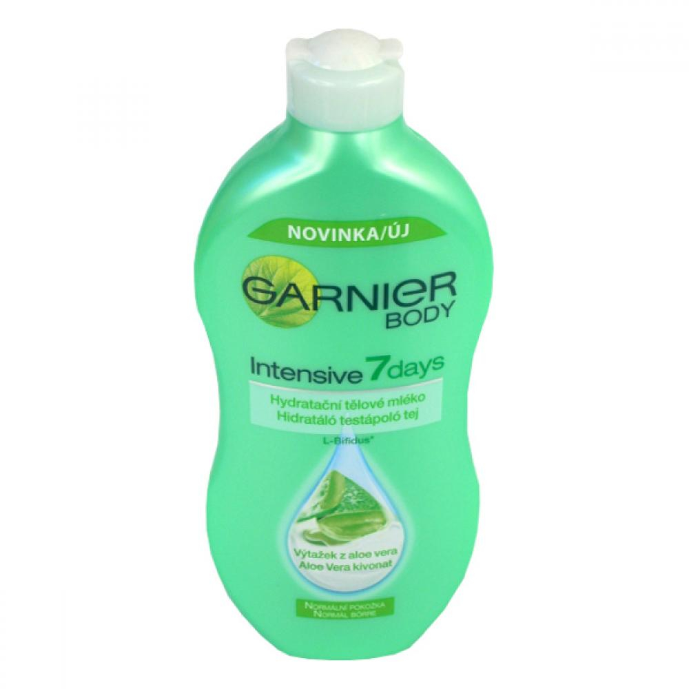 GARNIER 7days Telové mlieko s aloe 400 ml