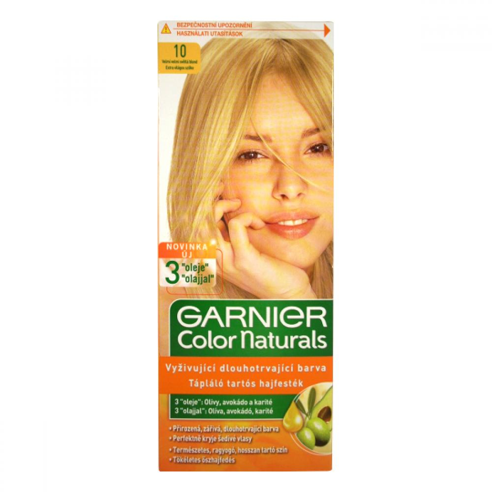 GARNIER Color Naturals farby na vlasy odtieň 10 veľmi svetlá blond ... 3f5adc31d9e