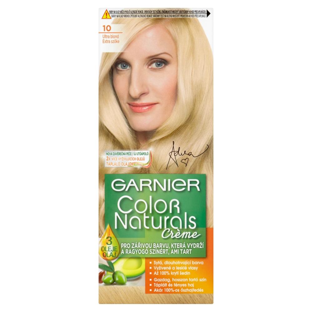 Garnier Color Naturals Farby Na Vlasy Odtien 10 Veľmi Svetla Blond