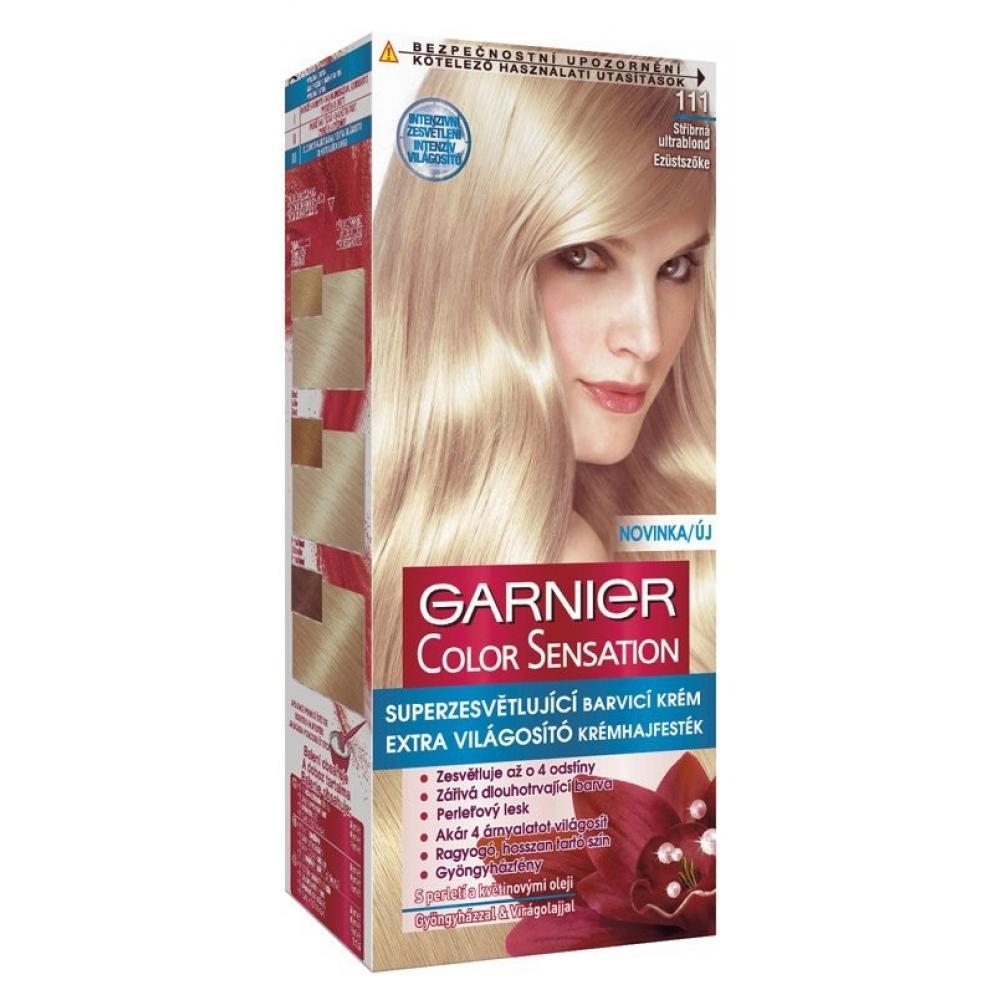 GARNIER Color Sensitive farby na vlasy odtieň 111 super svetlá popolavá  blond fad4e8f0aa3