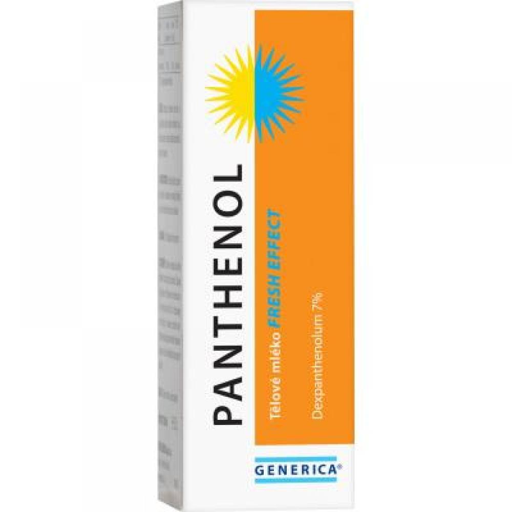 Generica Panthenol Telové mlieko fresh effect 150 ml