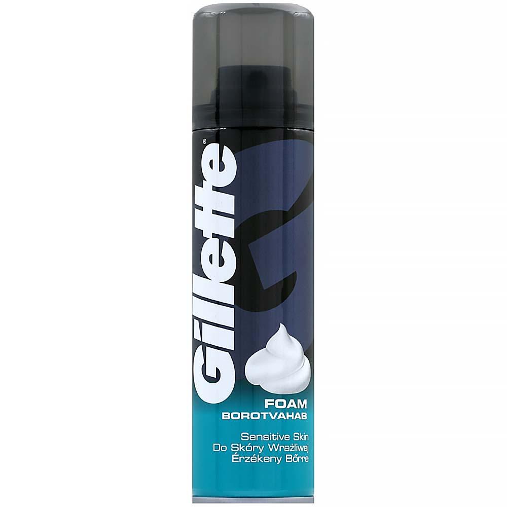 GILLETTE pena na holenie pre citlivú pokožku 200 ml