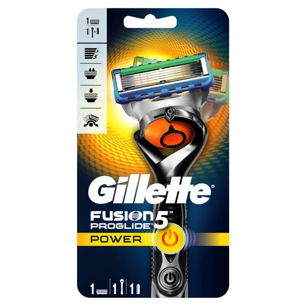 GILLETTE Fusion ProGlide Power Flexball holiaci strojček + náhradné hlavice 1 ks