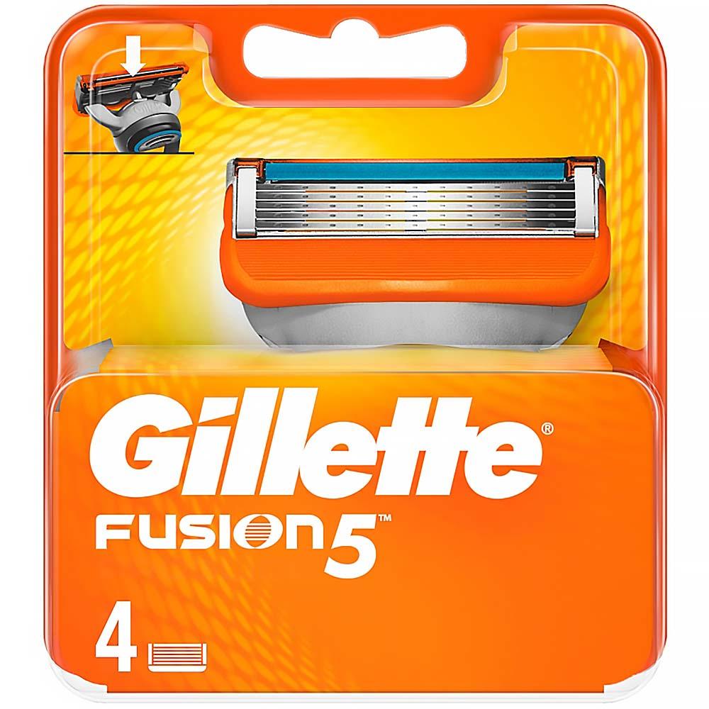 GILLETTE Fusion náhradné hlavice 4 kusy - MojaLekáreň.sk e6e14b13cde