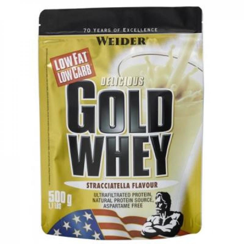 Gold Whey, srvátkový proteín, Weider, 500 g - Čokoláda-Peprmint