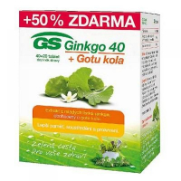 GS Ginkgo 40 + Gotu kola 40+20 tabliet