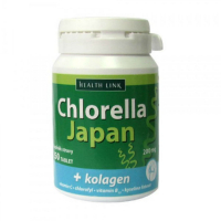HEALTH LINK Chlorella Japan + kolagén 250 tablet