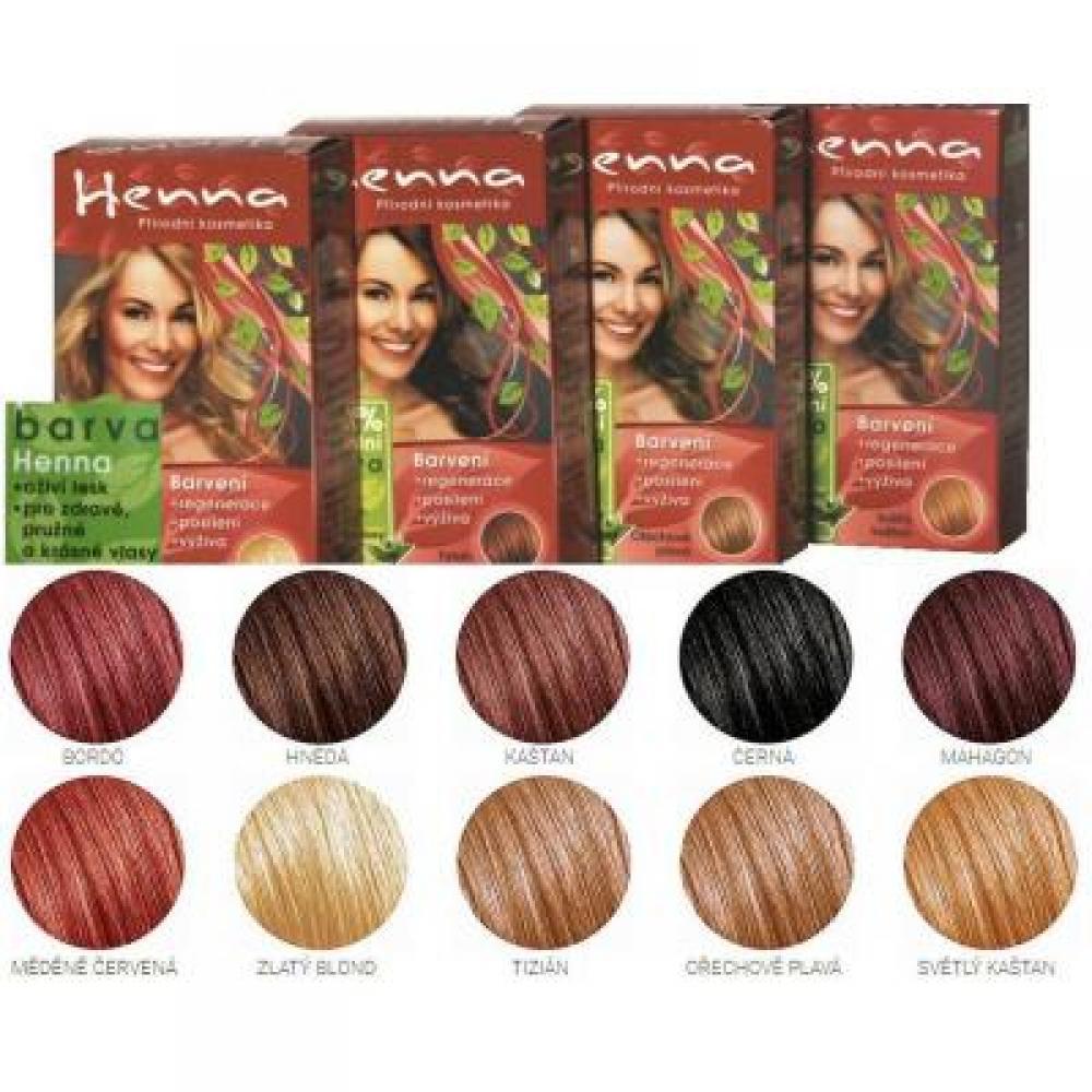 HENNA farba na vlasy medená červená 33 g - MojaLekáreň.sk adfb8512c44