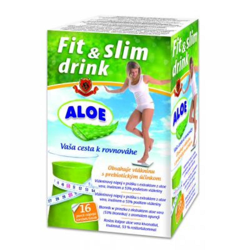 HERBEX FitLine Drink vlákninový nápoj s aloe vera 16x6 g