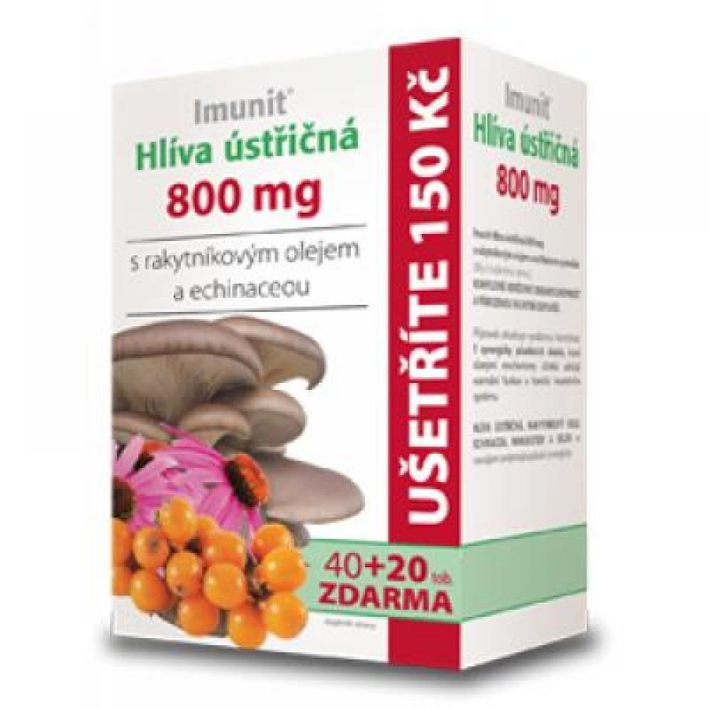 Imunit Hliva ustricovitá s rakytníkom a echinaceou 40 + 20 toboliek