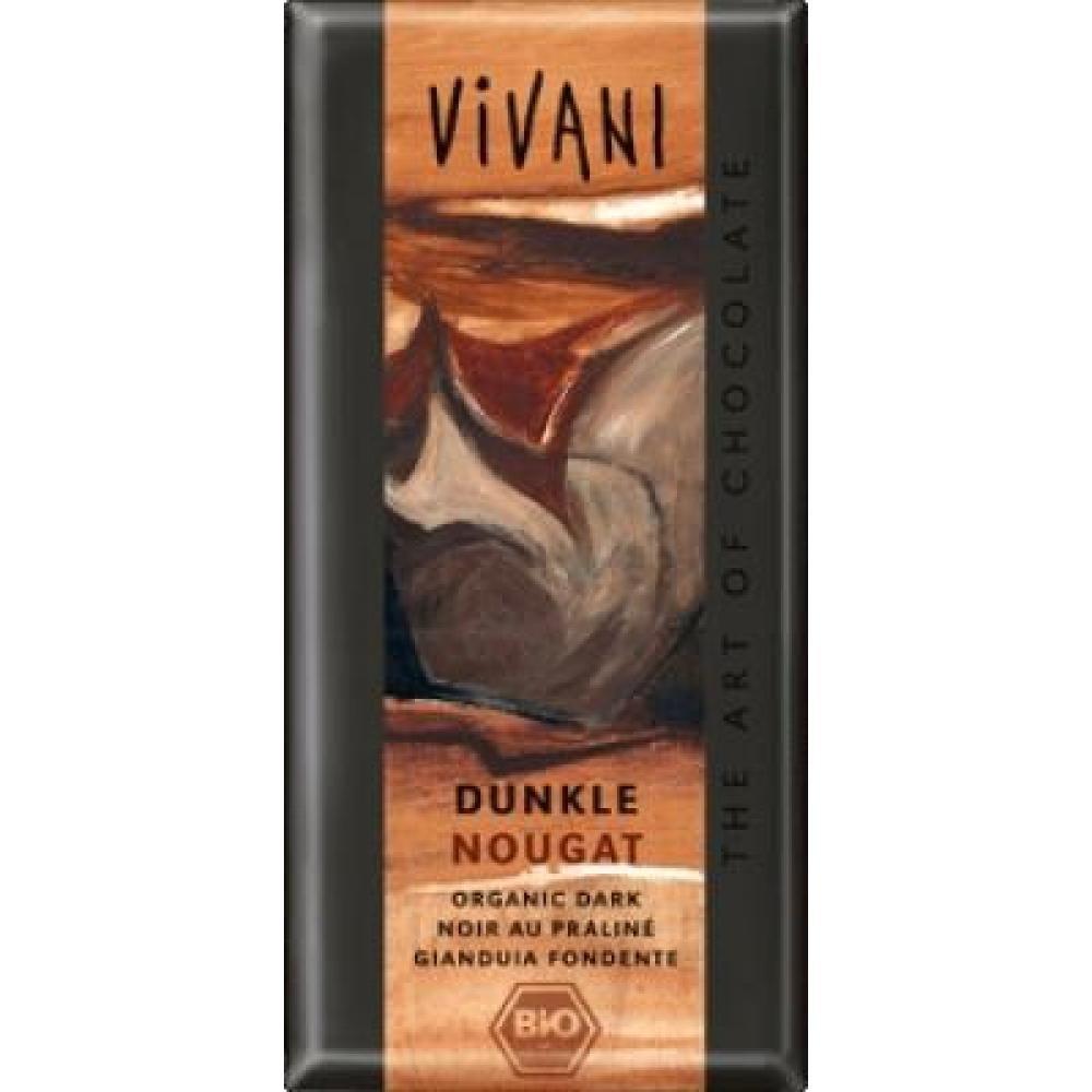 VIVANI bio čokoláda horká nugátová 100g