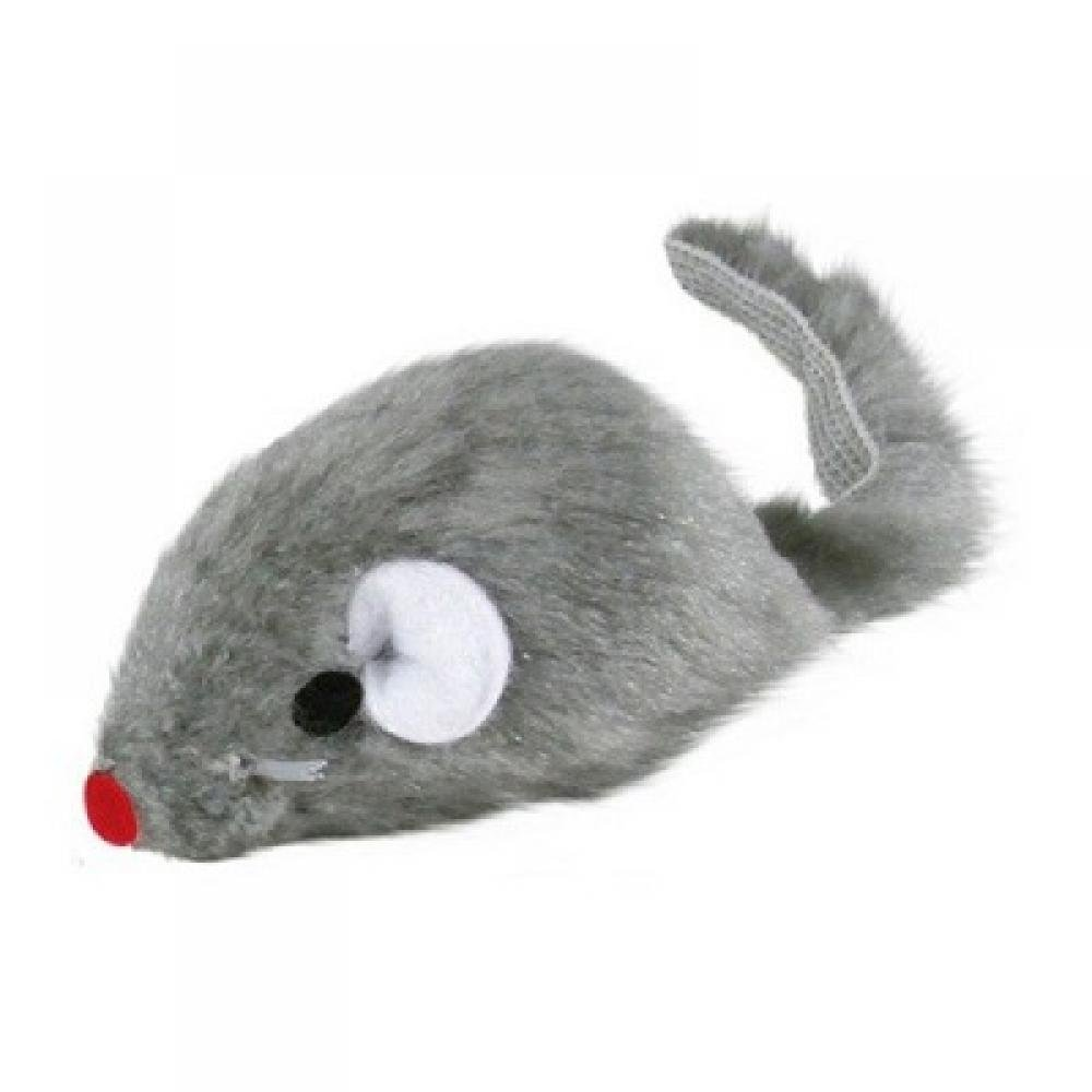 TRIXIE Kožušinová hračka pre mačku Myš 5 cm