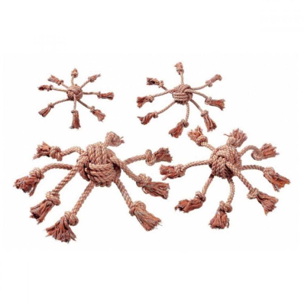 KARLIE Bavlnená hračka pre psa Chobotnica 15x15 cm 1 ks