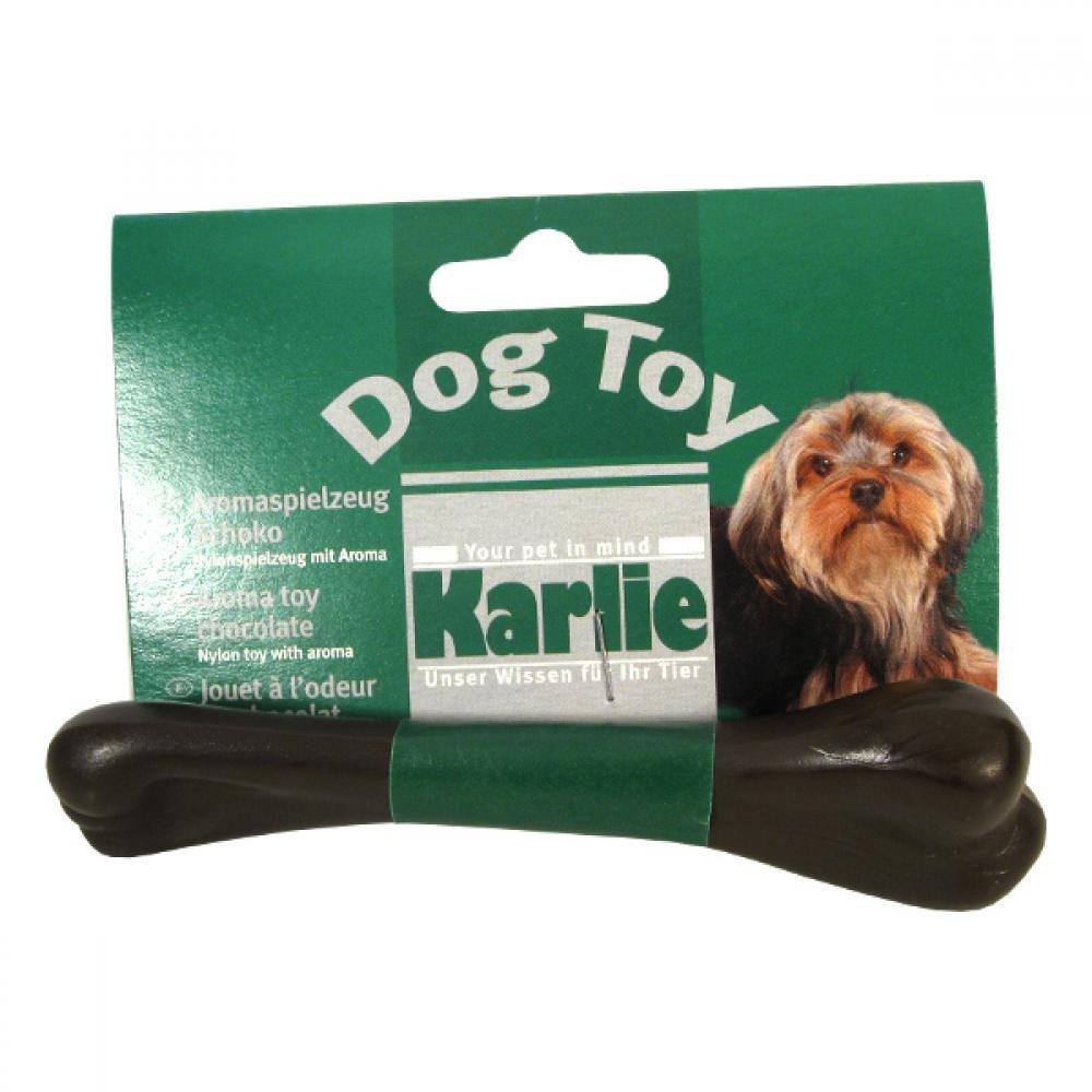 KARLIE Kosť dentálnej pre psa čokoládová 13 cm 1 ks