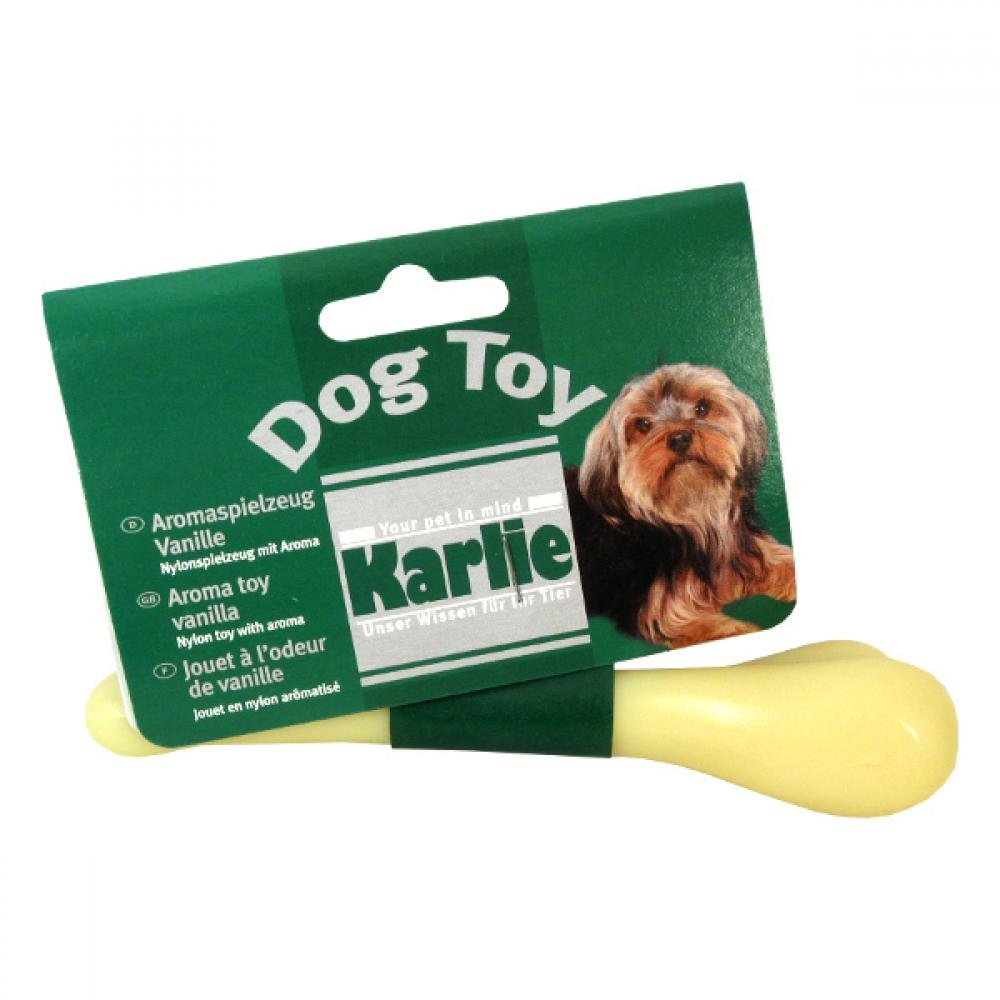 KARLIE Kosť dentálnej pre psa vanilková 15 cm 1 ks