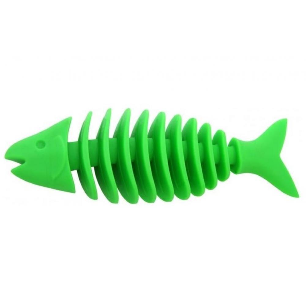 Hračka pes Rybka Dentální plovací velká 16 cm