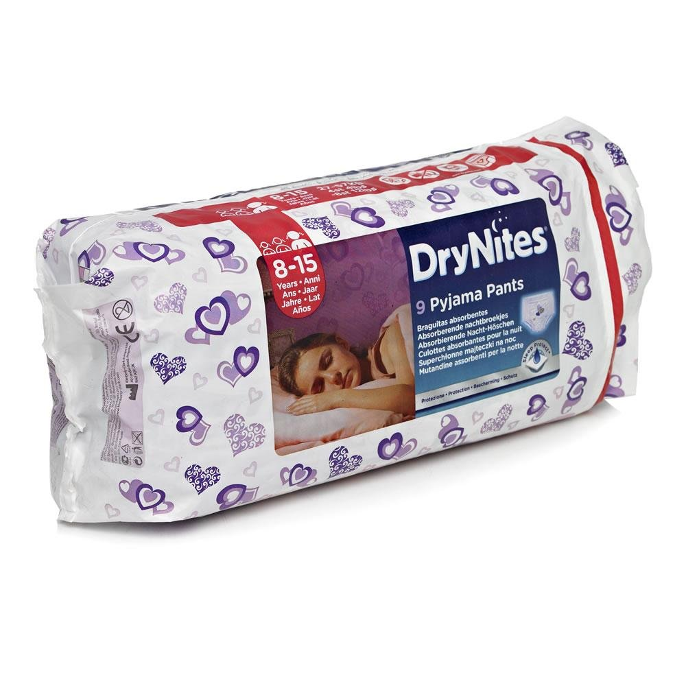 Huggies Dry Nites large girls 9ks