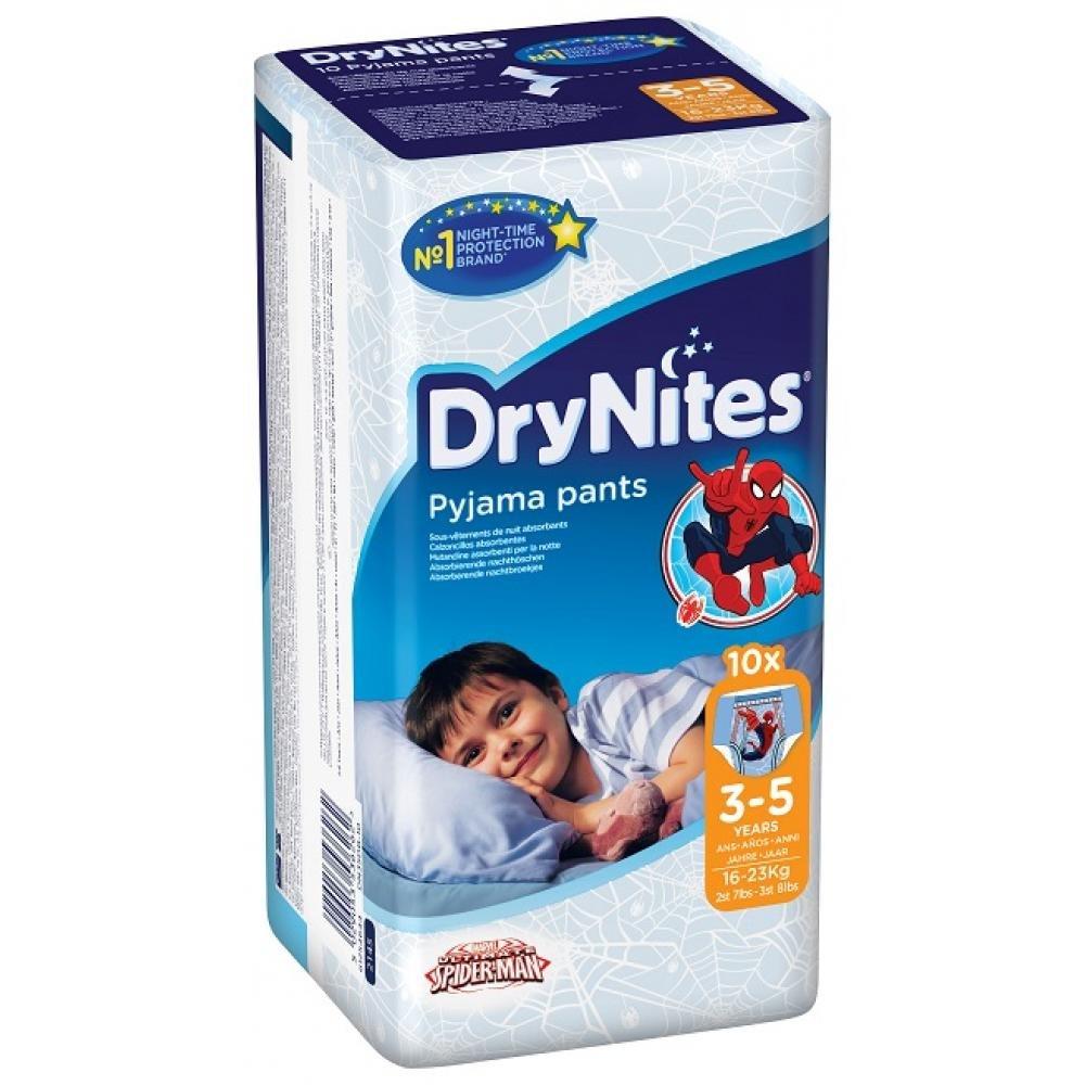 HUGGIES DryNites Absorpčné nohavičky 3-5 Boy 10 ks