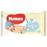 HUGGIES Pure 56 ks
