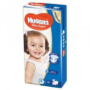 HUGGIES Ultra Comfort veľ. 4+ 50 ks