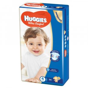 HUGGIES Ultra Comfort veľ. 4 54 ks