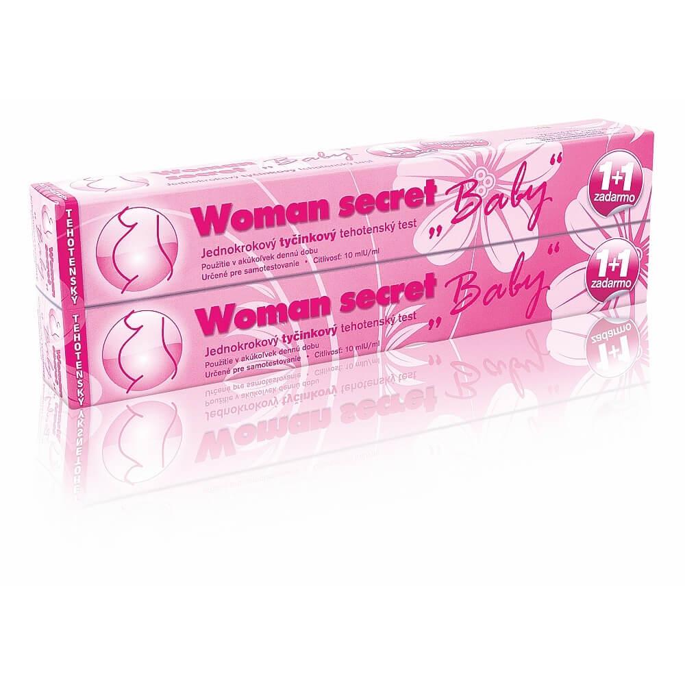 Woman secret Baby tehotenský test tehotenský test 2 ks