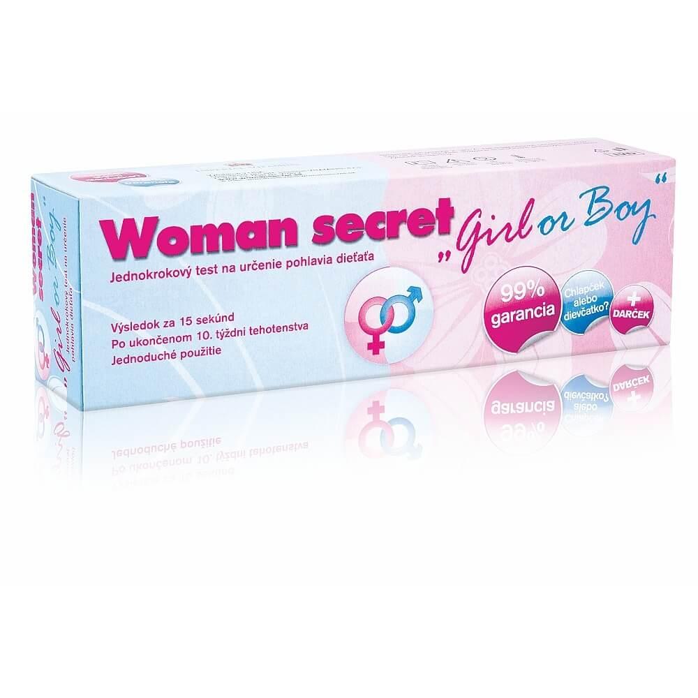 Woman secret Girl or Boy - jednokrokový test na určenie pohlavia dieťaťa : Výpredaj