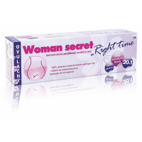 "IMPERIAL VITAMINS Woman secret ovulačný test ""Right time"" 20v1"