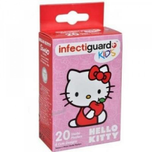 Infectiguard Hello Kitty KIDS náplasť 20ks