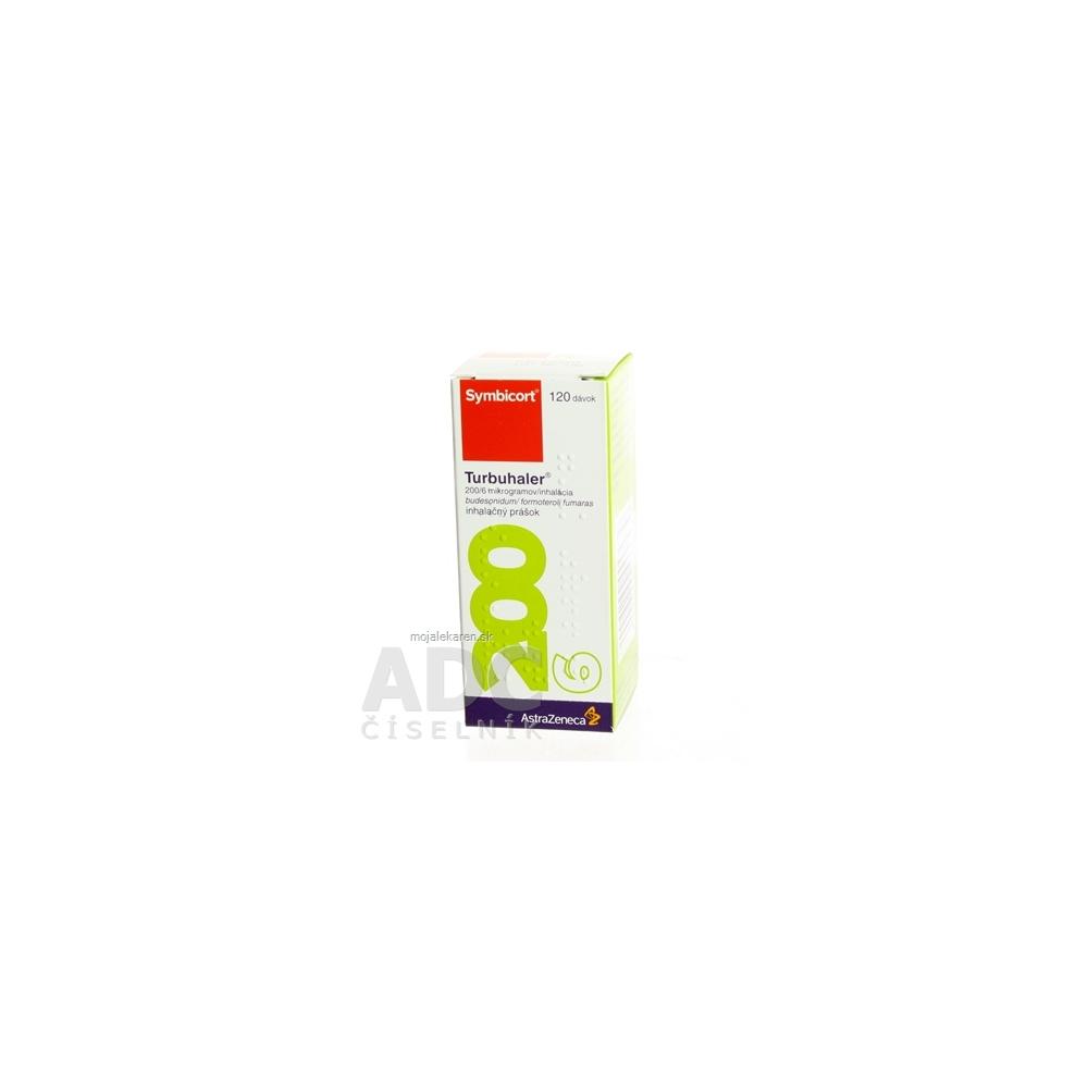 Symbicort Turbuhaler 200 6 mikrogramov inhalácia plv inh 1x120 dávok ... 2650e97f369