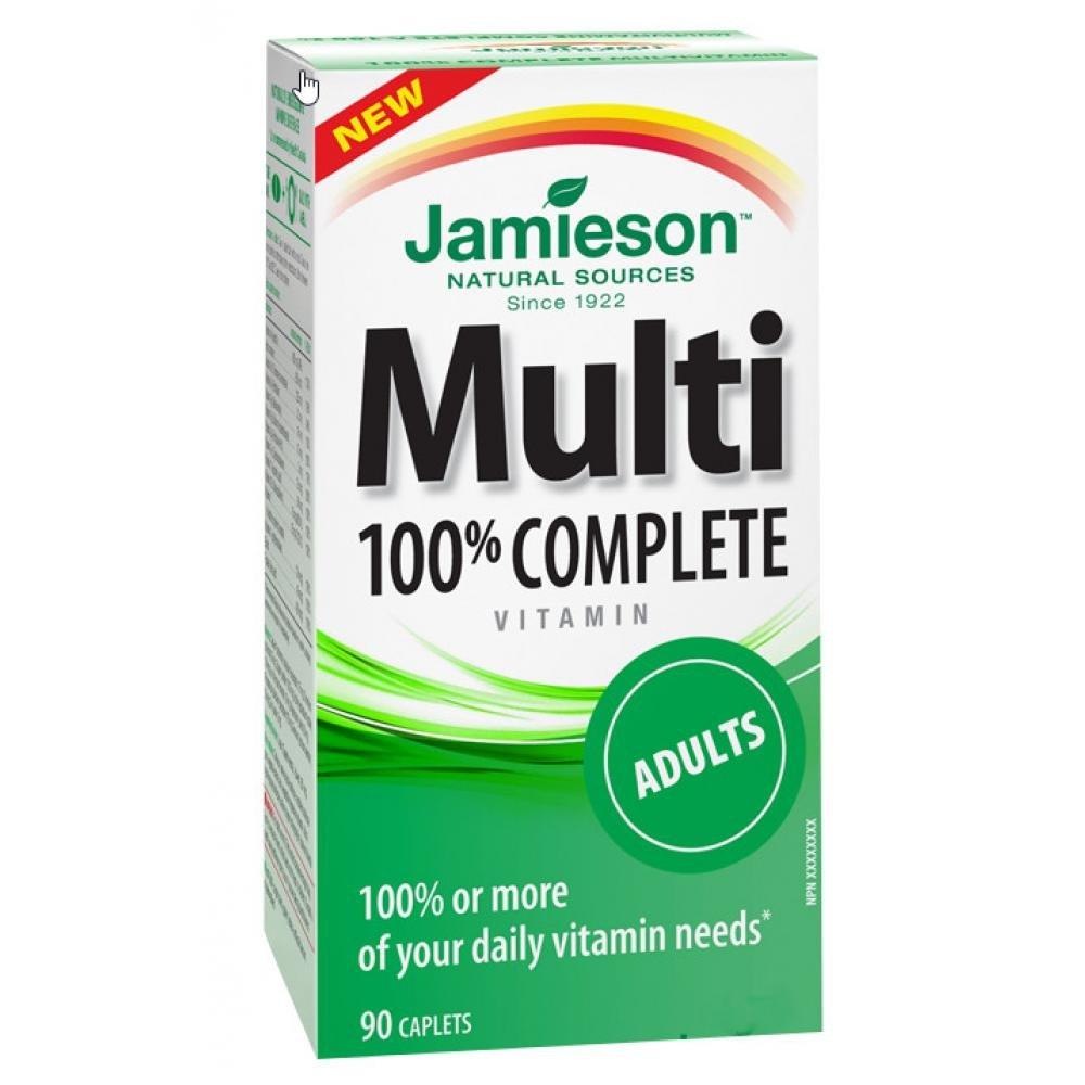 JAMIESON 100% Complete pre dospelých 90 kapsúl