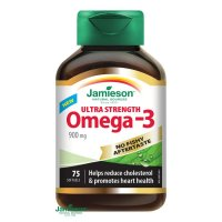 JAMIESON Omega-3 ULTRA Strenght 900 mg, 75 softgels
