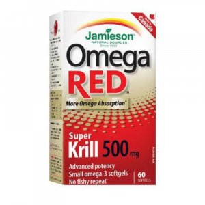 Jamieson OmegaRED™ Super Krill 500 mg 60 kapsúl