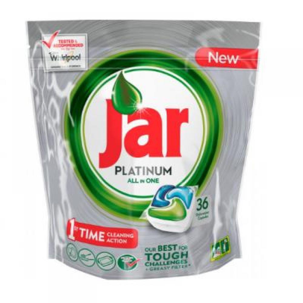 JAR tablety do umývačky Platinum Green 36 kusov