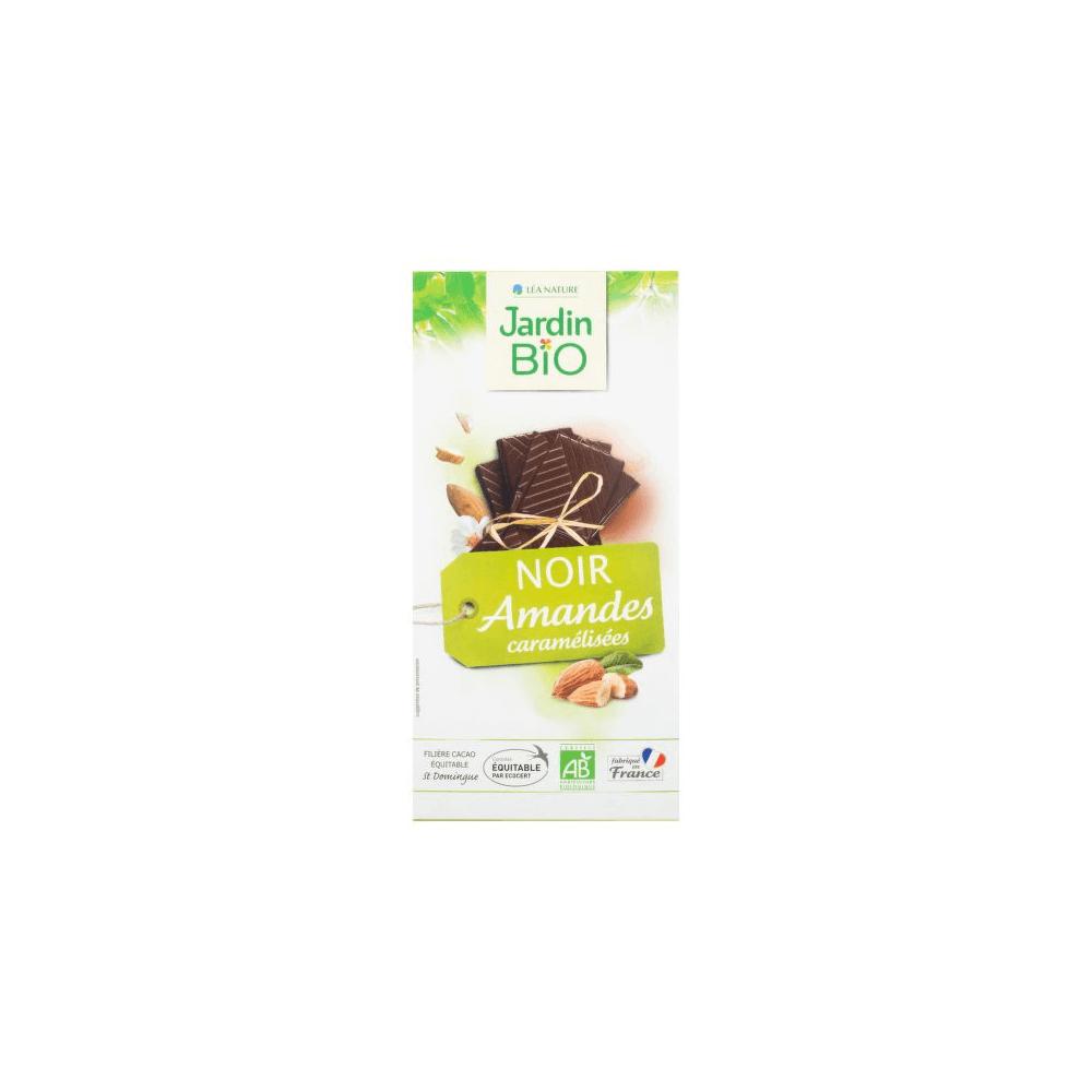 JARDIN BIO Čokoláda s mandľami 100 g