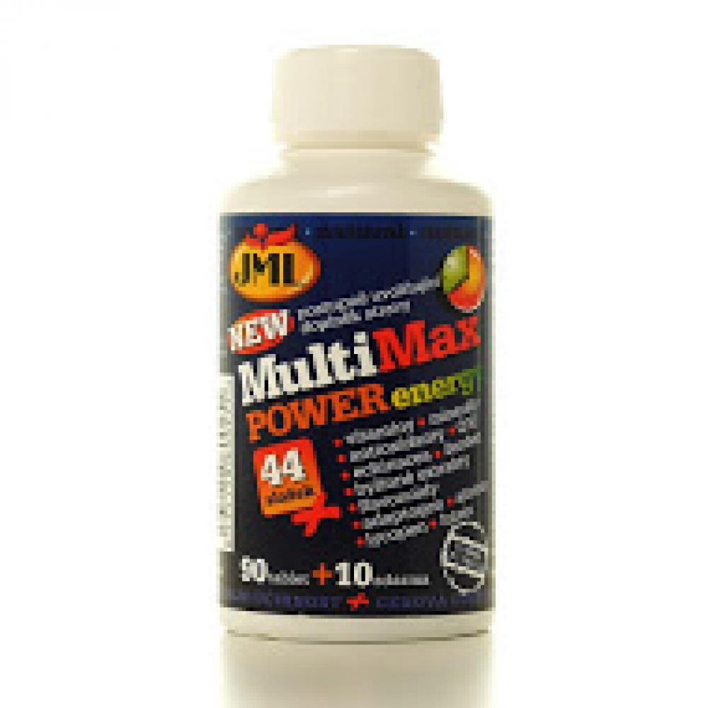 JML MultiMax Power Energy tbl.100 x44 zložiek vitamínu
