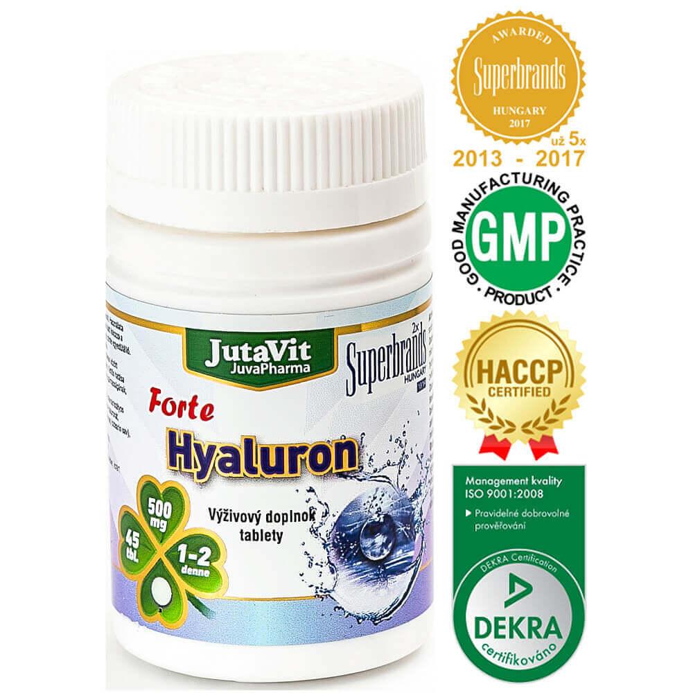 JutaVit Hyaluron forte 45 kapsúl