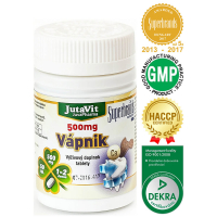 JUTAVIT Vápnik 500 mg 50 tabliet