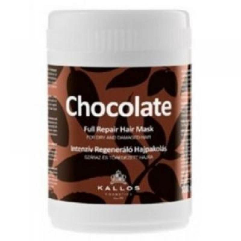 KALLOS Čokoládová maska pre suché a poškodené vlasy 1000 ml