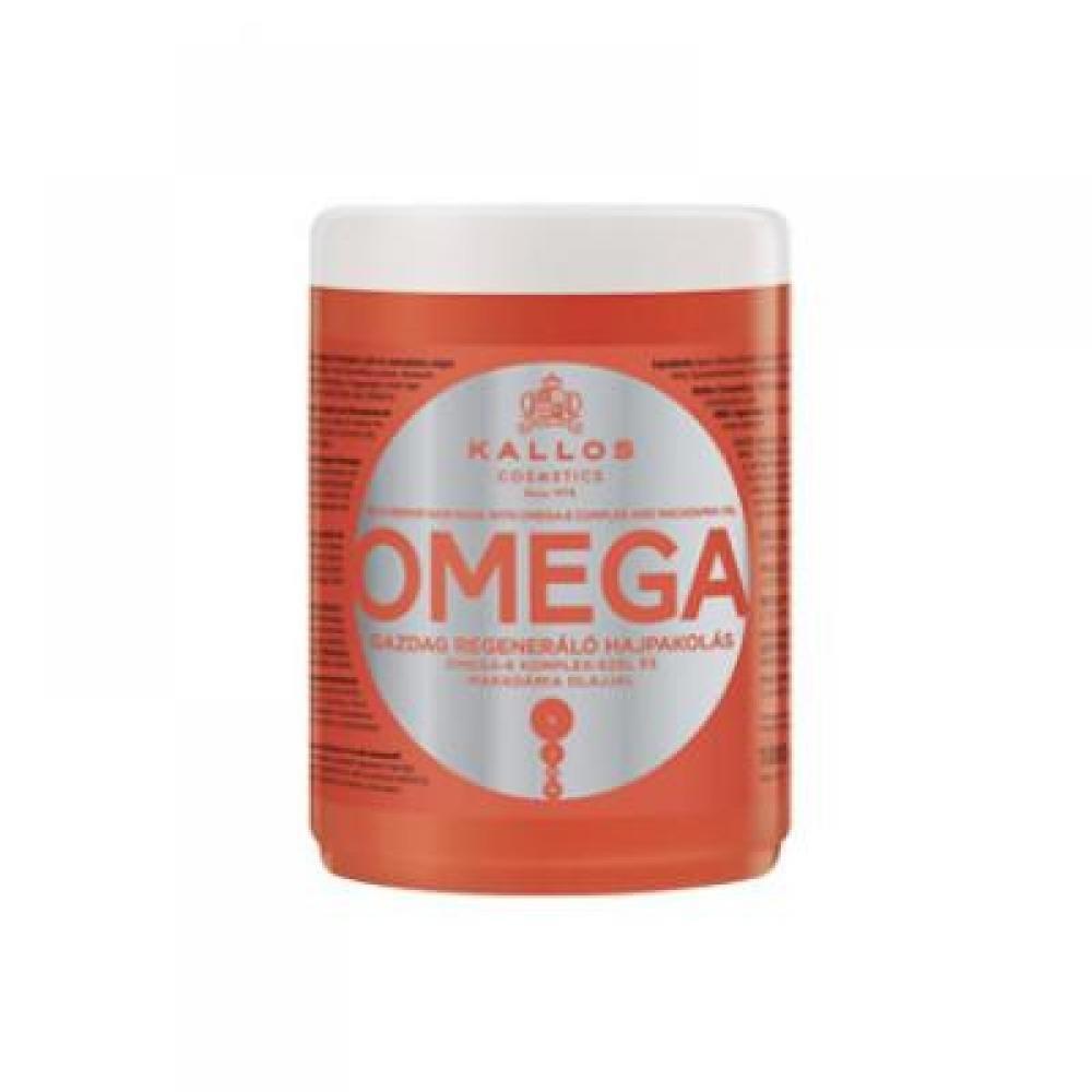 Kallos KJMN Vlasová maska s Omega komplexom pre poničené vlasy 1000 ml