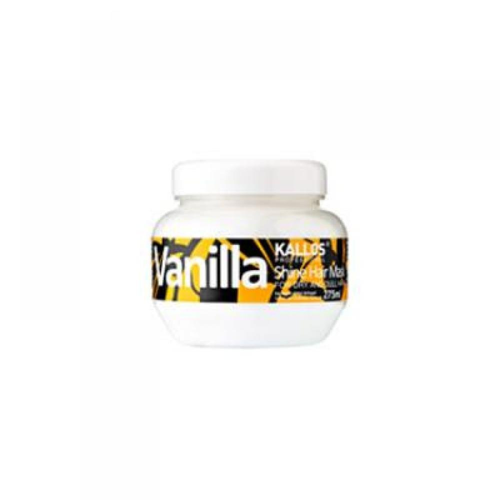 Kallos Vanilla Shine Hair Mask 275ml (Maska pre oživenie suchých vlasov)