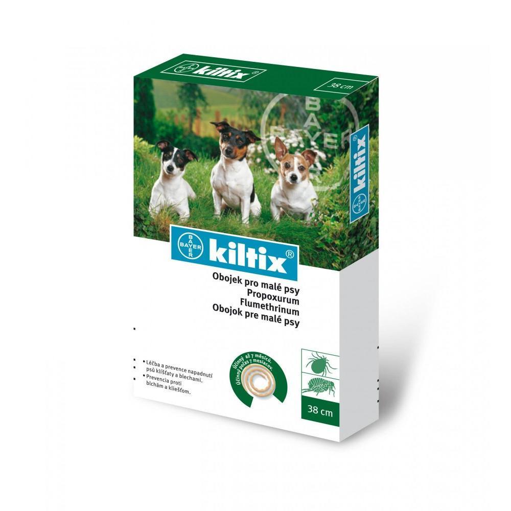 KILTIX Obojok proti blchám a kliešťom pre malé psy 38 cm