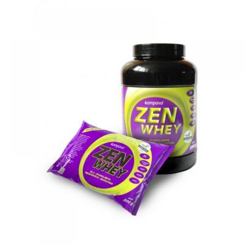 fd85874497 Kompava Zen Whey protein čokoláda višňa s aspartamom 500 g ...