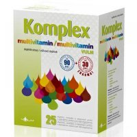 VULM Komplex multivitamin 90 + 30 tabliet