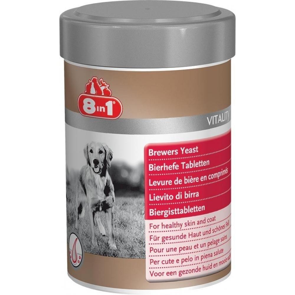 Kvasnice pivovarské pre psov 8 in1 260 tabliet