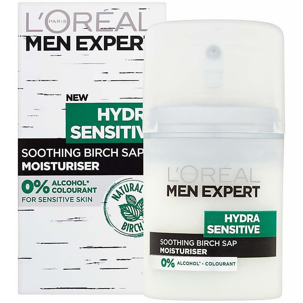 L´Oreal Paris Men Expert Hydra Sensitive Protecting Moisturiser 50ml (Pro citlivou pleť)