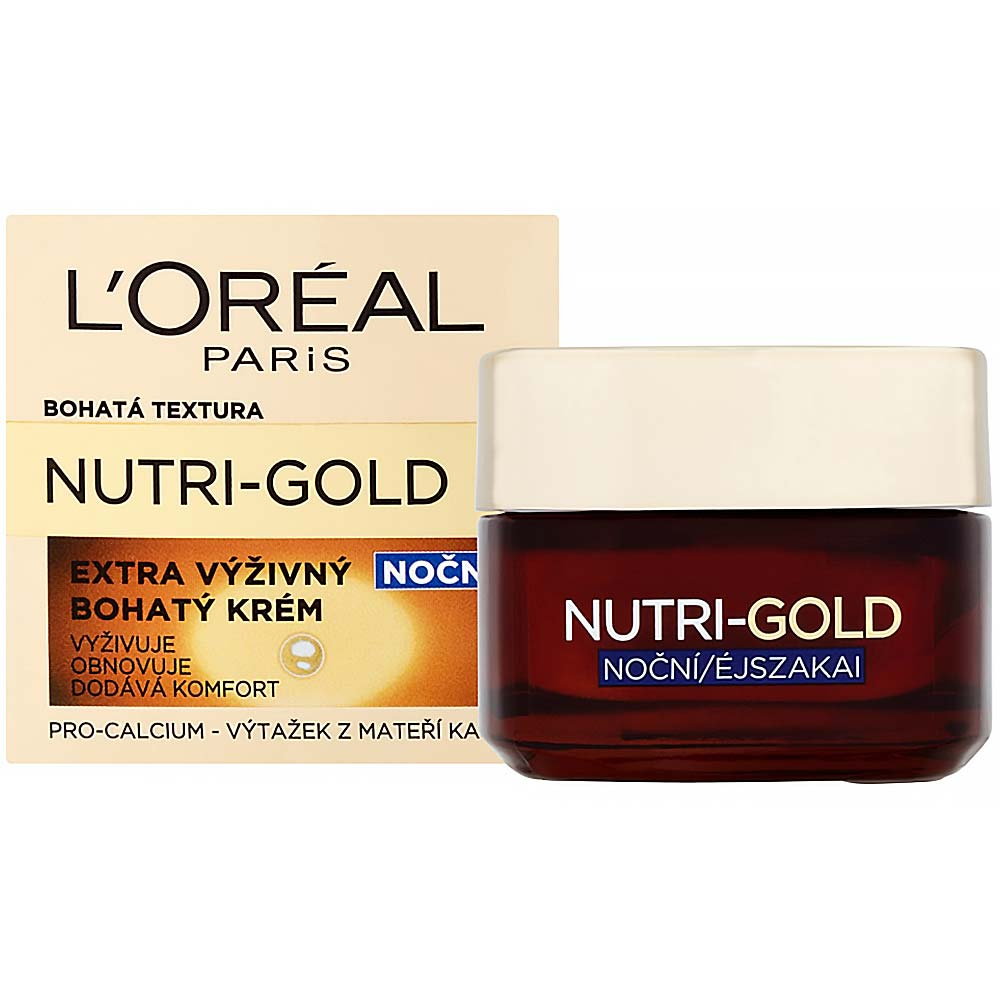 L'ORÉAL Expertise Nutri Gold nočný krém 50 ml