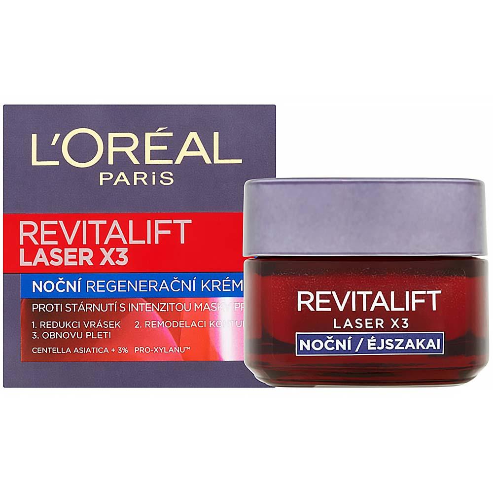 L'ORÉAL Revitalift Laser X3 nočný krém 50 ml