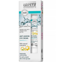 LAVERA Basis Sensitiv Očný krém Q10 15 ml